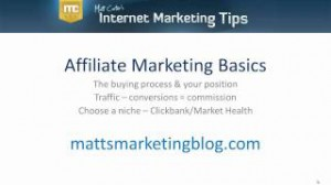 Affiliate Marketing Basics for Beginners
