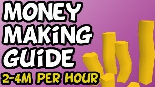 RuneScape Money Making Guide - 2-4M Per Hour Potion Flasks