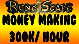 Runescape 2012: Money Making Guide 300k+ /Hour! - F2P - No Skills!