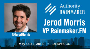 An Authoritative Interview with Podcast Master Jerod Morris, VP of Rainmaker.FM