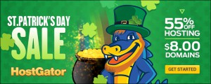 St. Patrick's Day Sale at HostGator