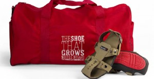 The Shoe That Grows Is Making a Difference