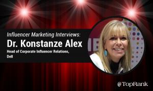 Enterprise B2B Influencer Marketing Interview: Dr Konstanze Alex, Dell