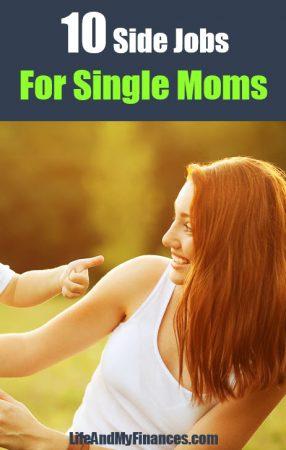10 Side Jobs For Single Moms