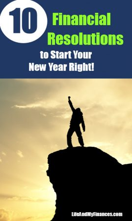 10 Financial Resolutions to Start Your New Year Right!