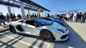 Lamborghini Aventador SVJ Takes Over Cars & Coffee