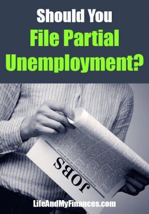 Should You File Partial Unemployment?