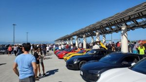 Ferrari Supercars and Superamerica At South OC Cars and Coffee